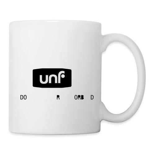 UNF_svartvit-eps - Mugg