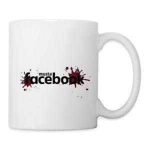 Musta Facebook -t-paita - Muki
