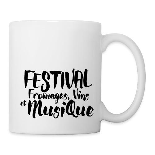 Festival Fromages, Vins et Musique - Mug blanc