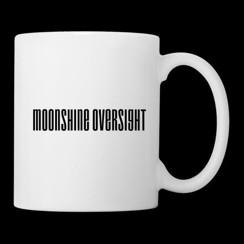Moonshine Oversight logo - Mug blanc