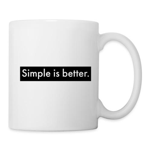 Simple Is Better - Mug