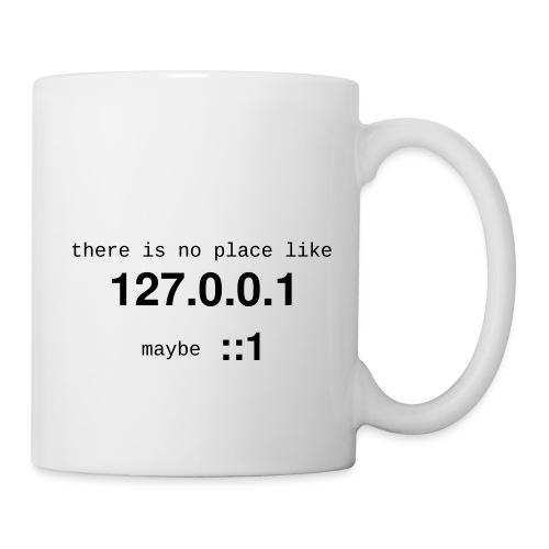 127-0-0-1-::1 - Mug blanc
