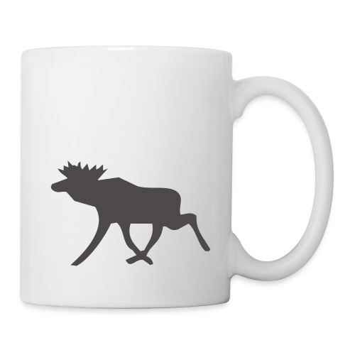 Schwedenelch; schwedisches Elch-Symbol (vektor) - Tasse