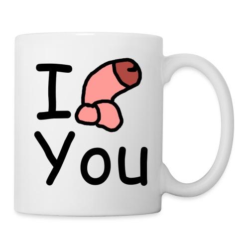 I dong you pillow - Mug
