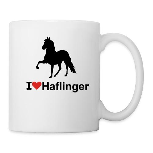 I Love Haflinger - Tasse