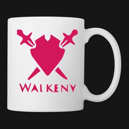 Das Walkeny Logo mit dem Schwert in PINK! - Tasse