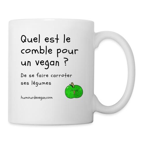 Humourdevegan.com - Comble d'un vegan - Mug blanc