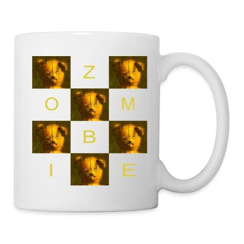 Zombie Teddy Bear Design - Mug