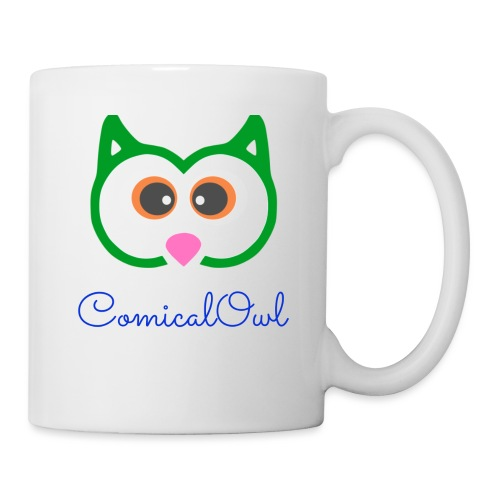 Cartoon Owl - Mug