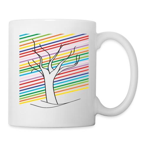 rainbow tree - Mug