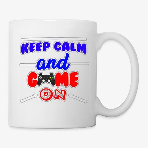 Keep Calm And Game ON - Mugg