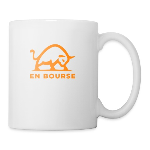 bull with enbourse cut fi - Mug blanc