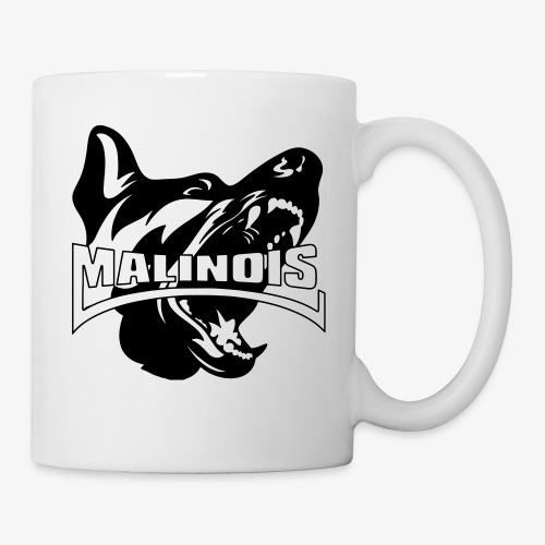 malinois - Mug blanc