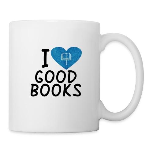 I love good books - Tasse