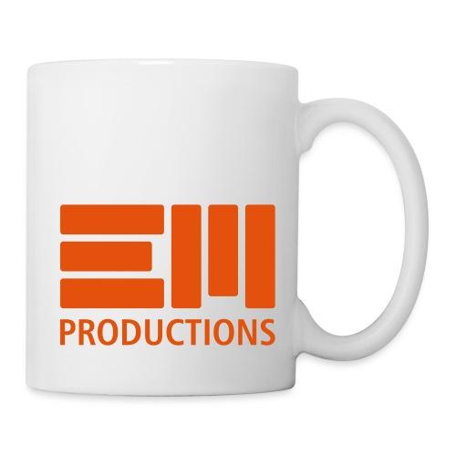 EM Productions Logo 2016 - Tasse