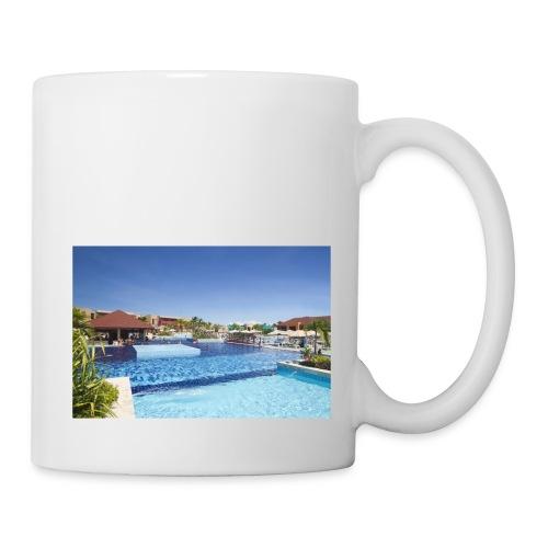 splendide piscine - Mug blanc