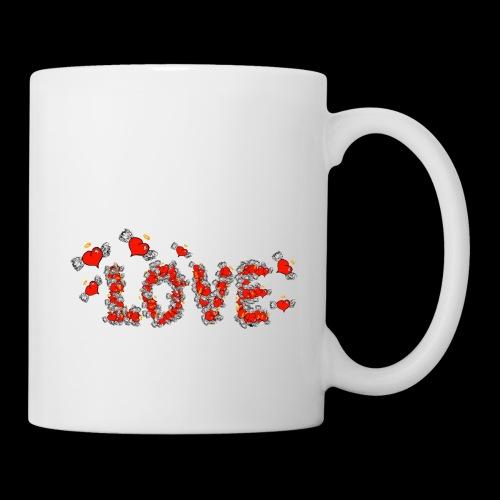Flying Hearts LOVE - Mug