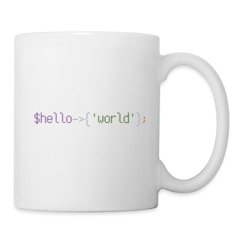 Hello World - Mug blanc