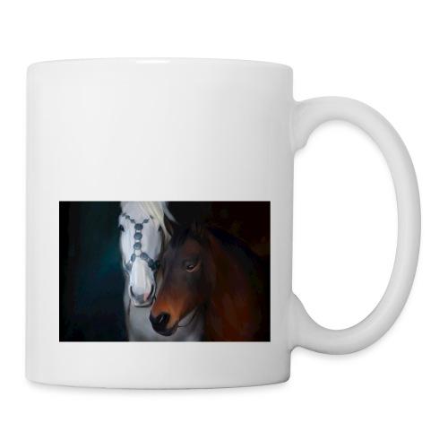 Painted horse portrait - Tasse