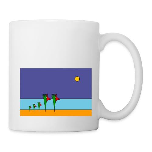 Galoloco - na praia / at the beach (2) -3:2 - Mug blanc