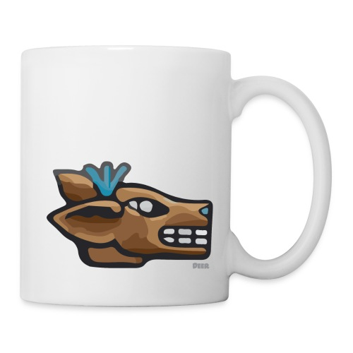 Aztec Icon Deer - Mug