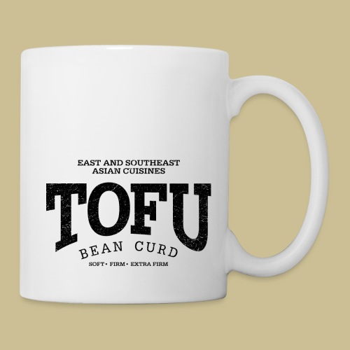 Tofu (black oldstyle) - Tasse