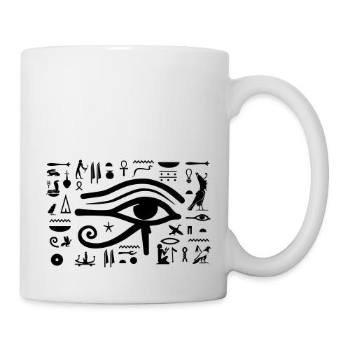 HORUS Hieroglyphen - Tasse