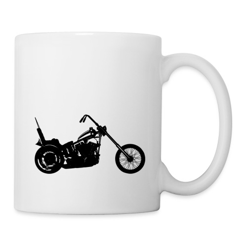 Chopper - sort - Kop/krus