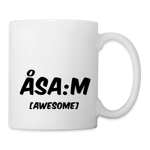 Åsa:m [awesome] - Mugg