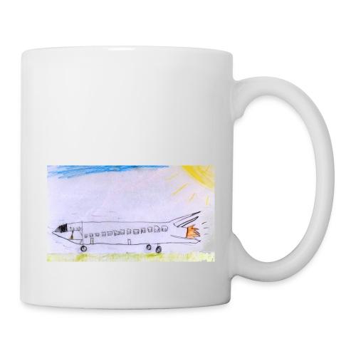 Destination énergie // T-shirt manches courtes - Mug blanc