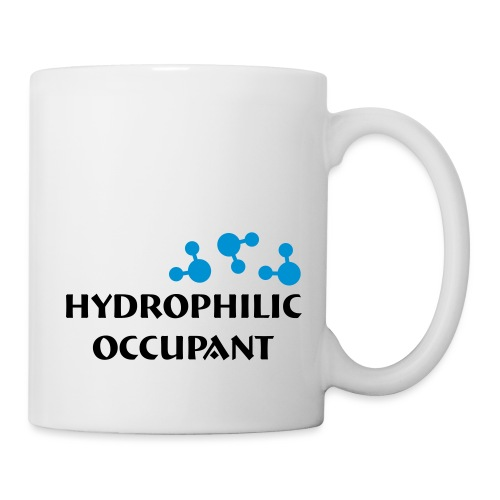 Hydrophilic Occupant (2 colour vector graphic) - Mug