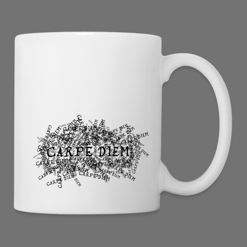 carpe diem (black) - Mug