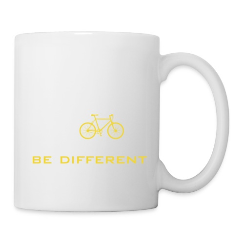 be different Auto Fahrrad Bike car anders einzig - Mug