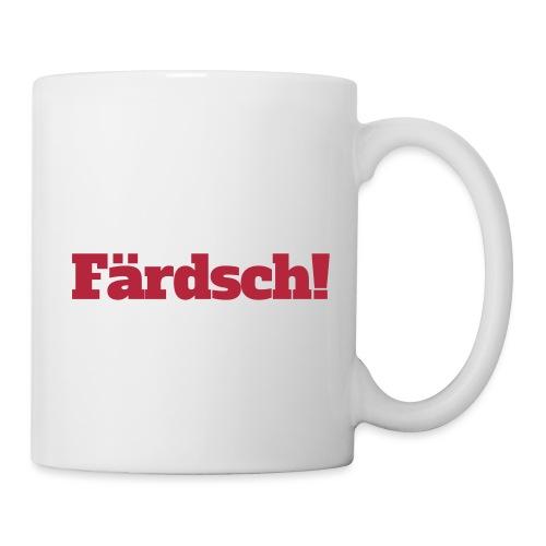 Färdsch - Tasse