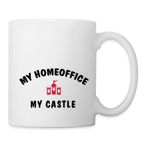 MY HOMEOFFICE MY CASTLE - Tasse