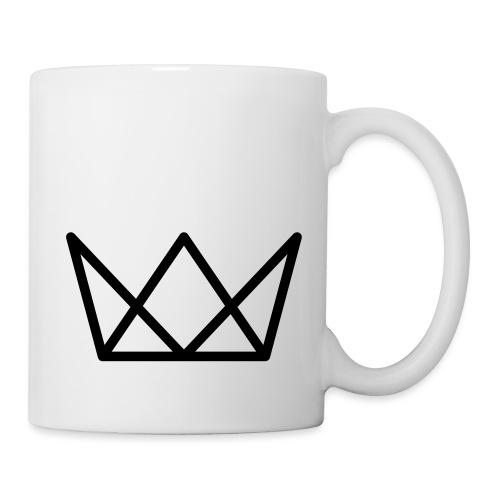 TKG Krone schwarz CMYK - Tasse