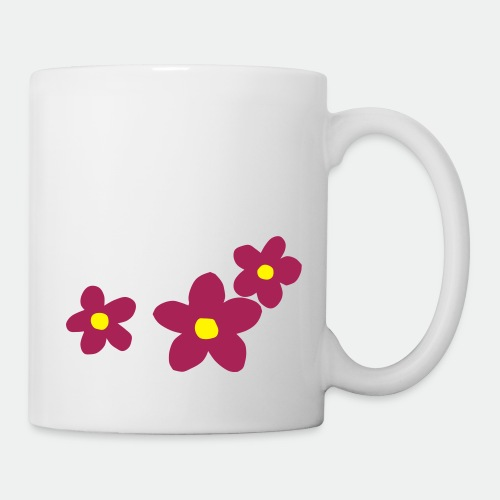 Three Flowers - Mug
