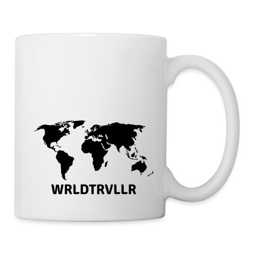 Worldtraveller - Tasse