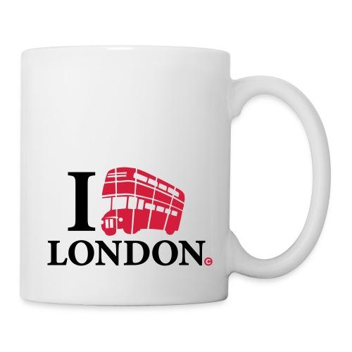 I love (Double-decker bus) London - Mug
