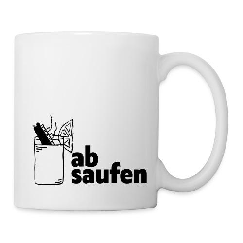 absaufen - Tasse