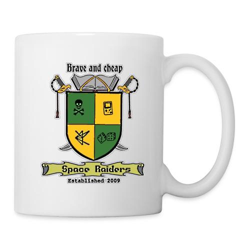 space raiders coat of arms - Mug