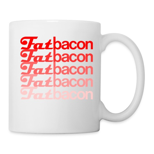 FatBaconlogo faded png - Mug