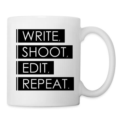 Write, Shoot, Edit, Repeat - Tasse