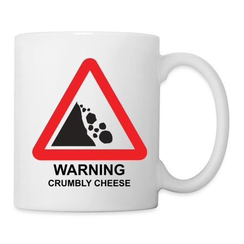 WARNING: CRUMBLY CHEESE - Mug