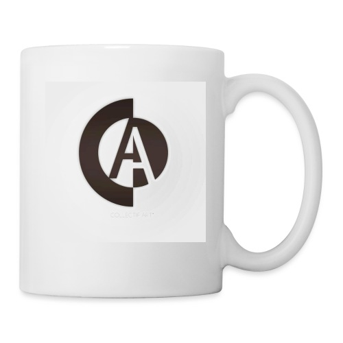 logo_collectif_art - Mug blanc