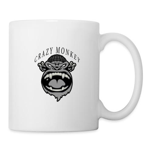 CRAZY MONKEY collection - Mug blanc