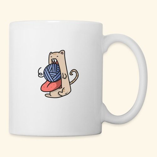 the eat-all-you-can cat - Mug