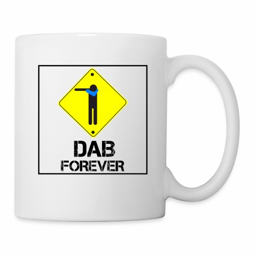 Dab Forever Yellow Black - Tazza