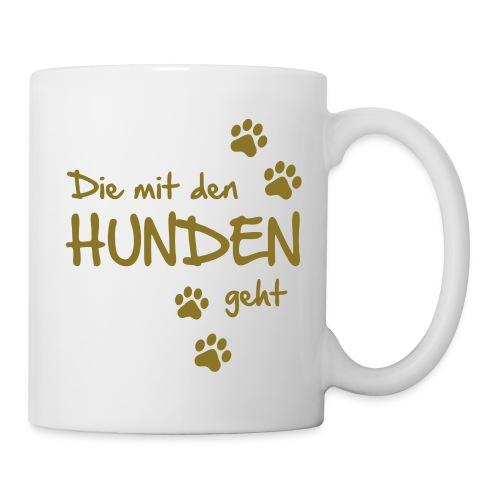 Vorschau: Die mit den Hunden geht - Tasse