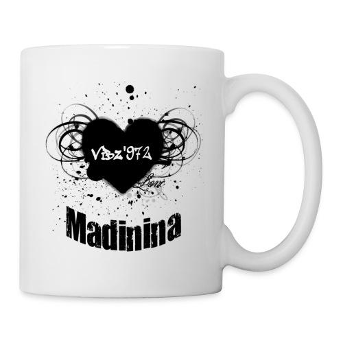 love mada2 - Mug blanc